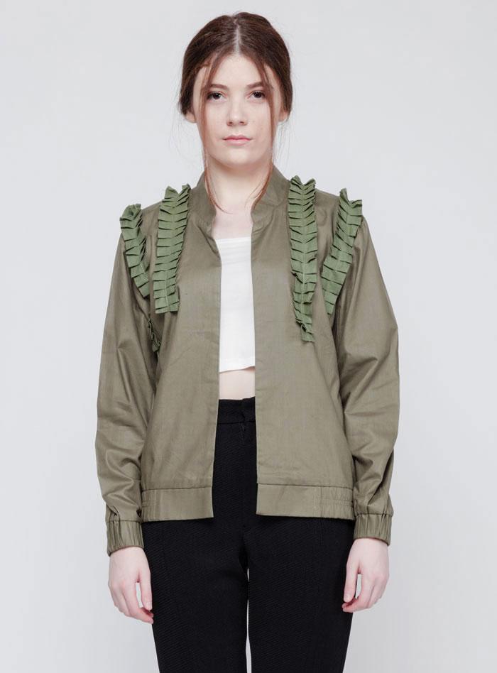 Jual Army Ruffles Jacket Untuk Tampil Keren Di Segala Kegiatan