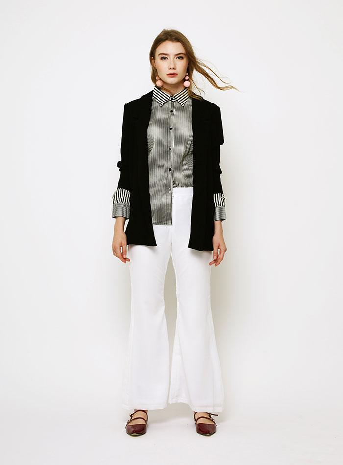 jual blazer hitam wanita terbaru trendy lengkap 2017