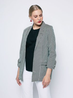 Maura Stripes Blazer4