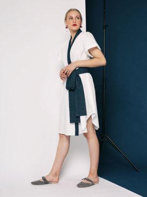 River Wrap Dress2