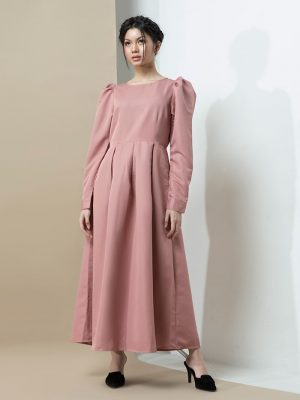 Nindi-Puff-Sleeve-Dress