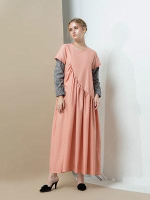 1_Plemette-Peach-Dress