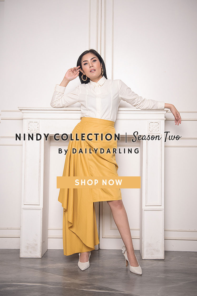 Fashion And Style Dailydarling Fiction Blouse With Obi Off White